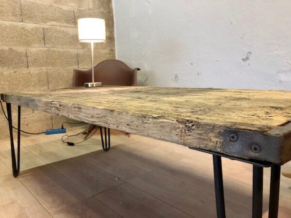 Table basse bois chêne
