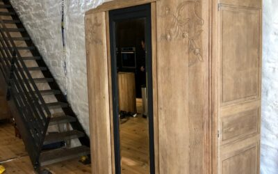 Rénovation armoire et table à manger