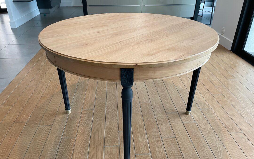 Rénovation d'une table en merisier !