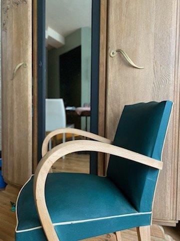Rénovation chaise style Art Déco !