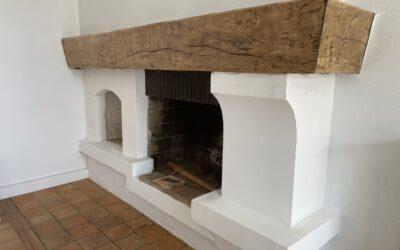 Rénovation cheminée !