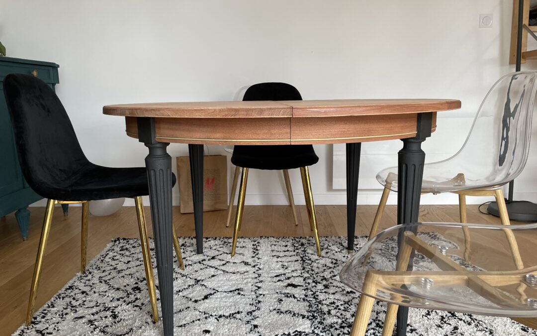 Rénovation table à manger !